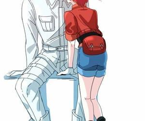 anime, kiss, and anime boy image