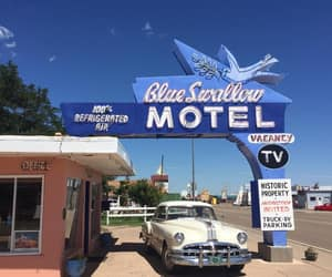 places, route 66, and usa image