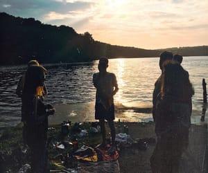 friendship, hood, and lake image