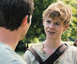 newt, my god, and maze runner image