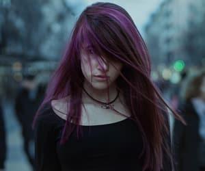 beautiful, dark, and emo girl image