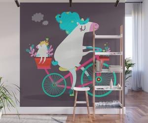 bikes, unicorn, and cute image