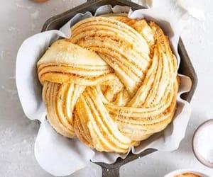 comida, dulce, and brioche image