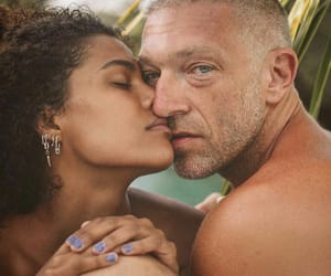 beach, kiss, and couple image