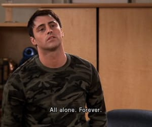 friends, alone, and Joey image