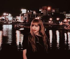 lisa, blackpink, and night image