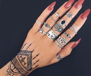 cool, girl, and jewelery image