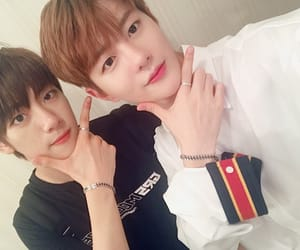 golden child, bomin, and jibeom image