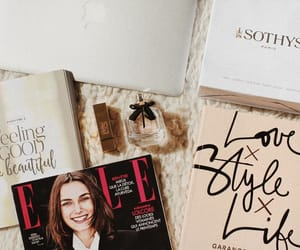 blog, books, and Elle image