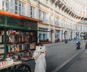 books, budapest, and girl image
