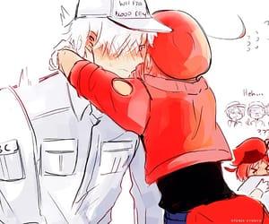 anime, hug, and anime boy image