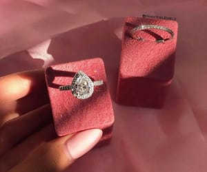 diamond ring, goals, and jewelry image