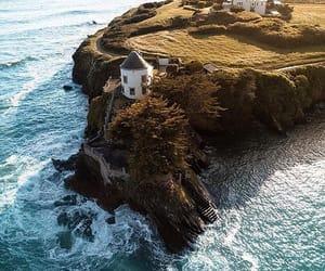 coast, lighthouse, and france image