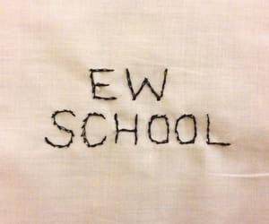school, ew, and grunge image