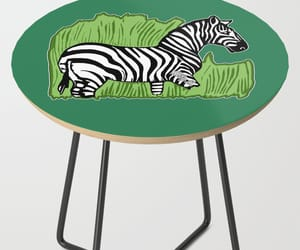 decor, green, and table image