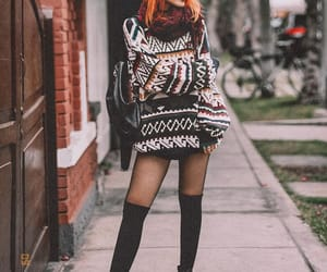 blogger, clothes, and sweater image