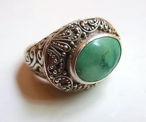 etsy, sterling silver, and vintage ring image
