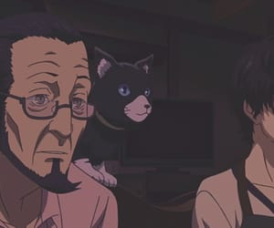 anime, cat, and mona image