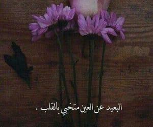 بعيد, عين, and مقولة image