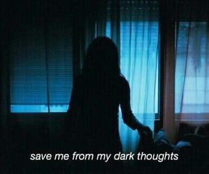 dark, sad, and grunge image