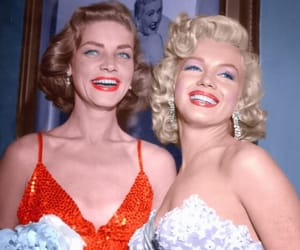 Marilyn Monroe, Lauren Bacall, and old hollywood image