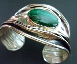 etsy, 925 sterling silver, and designer bracelet image