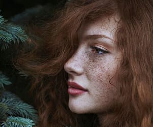 freckles, hair, and ginger image