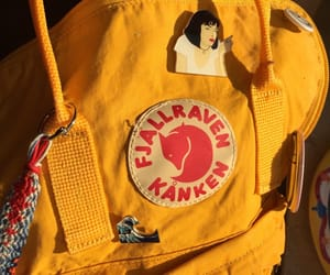 aesthetic, backpack, and fjallraven kanken image