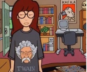 Daria, cartoon, and 90s image