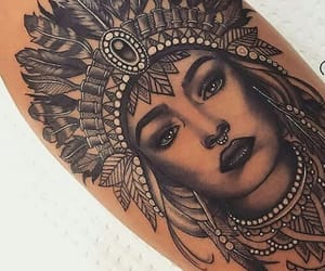 beautiful and tattoo image