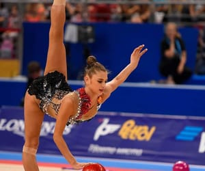 ball, rhythmic gymnastics, and soldatova image
