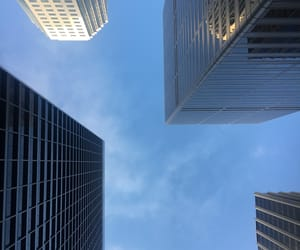 california, skyscraper, and city image