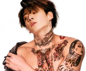 bts, jungkook, and tattoo image