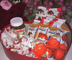 food, kinder, and nutella image
