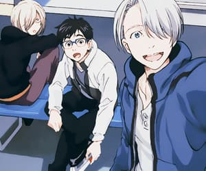 anime, yuri on ice, and yoi image