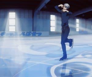 anime, gif, and ice skating image