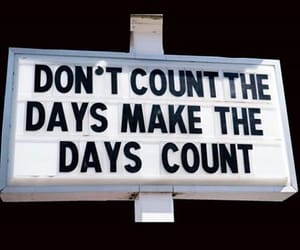 quotes, days, and count image