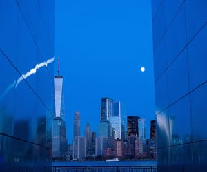 blue, buildings, and vibes image