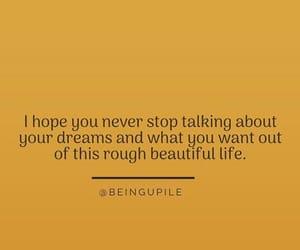 beautiful, deam, and hope image