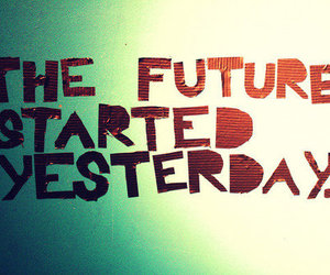 quote, yesterday, and future image