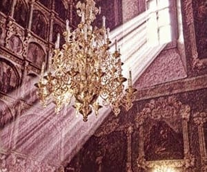 chandelier, edits, and fancy image