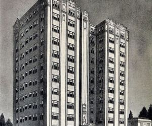 oakland, community apartments, and 1920s architecture image