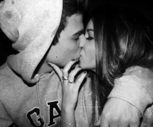 black and white, Relationship, and romantic image