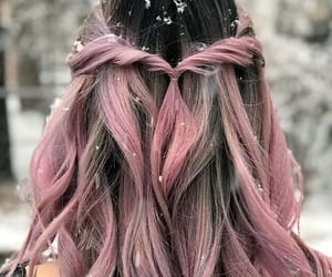 colored hair, colorful, and colorful hair image
