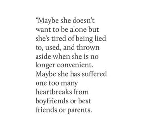 quotes, heartbreak, and life image