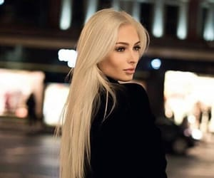 blonde, hair, and beauty image