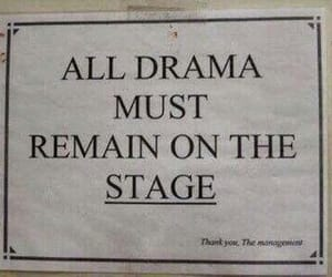 drama, quotes, and stage image