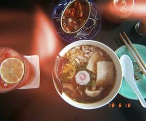 food, ramen, and kimchi image
