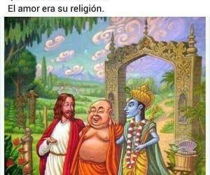 amor, buda, and mahoma image