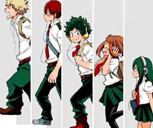 1A, mha, and all might image